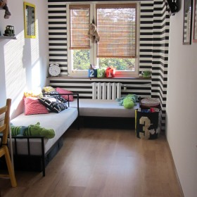 """,,ZEBRA"""" na ścianie, czyli metamorfoza pokoju dziecinnego"""