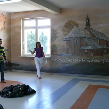 Artystyczne malowidło ścienne