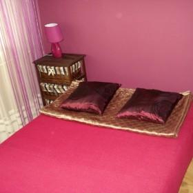 sypialnia i pokój dzienny