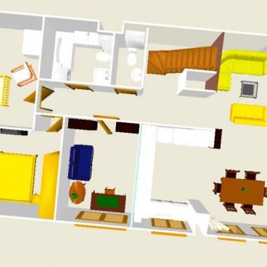 Tak mniej więcej wyglądać będzie rozkład naszego nowego mieszkania