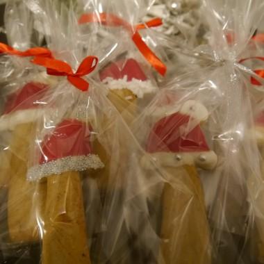 Pierniki zapakowane i gotowe do rozdania