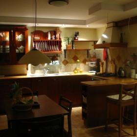 kuchnia - jeszcze nie wykonczona