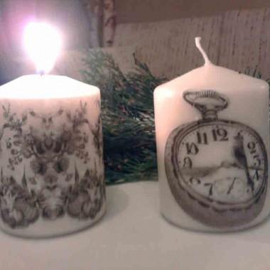 ...przy świecach