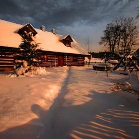 moje domki cd...zima:)