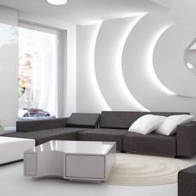 Dom w Radzyminie - salon