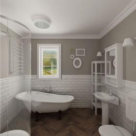 łazienka w stylu shabby chic