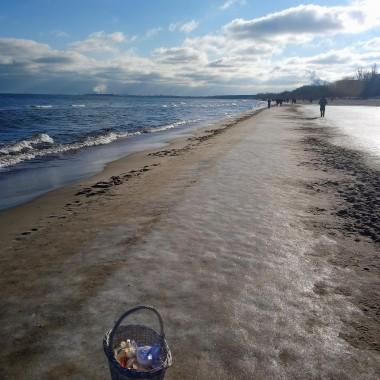 ..............i lodowa plaża............