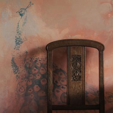 malarstwo ścienne salon