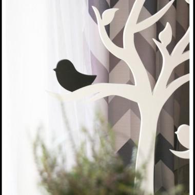 Jesienne dekoracje z drzewkami :)