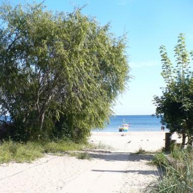 .............i plaża................