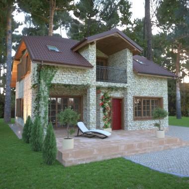 Modernizacja domu z lat 90'. Projekt 2014