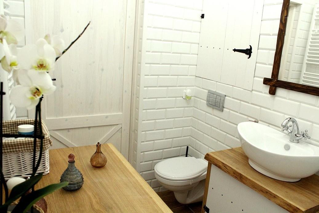Zdjęcie 99 W Aranżacji łazienka W Stylu Rustykalnym