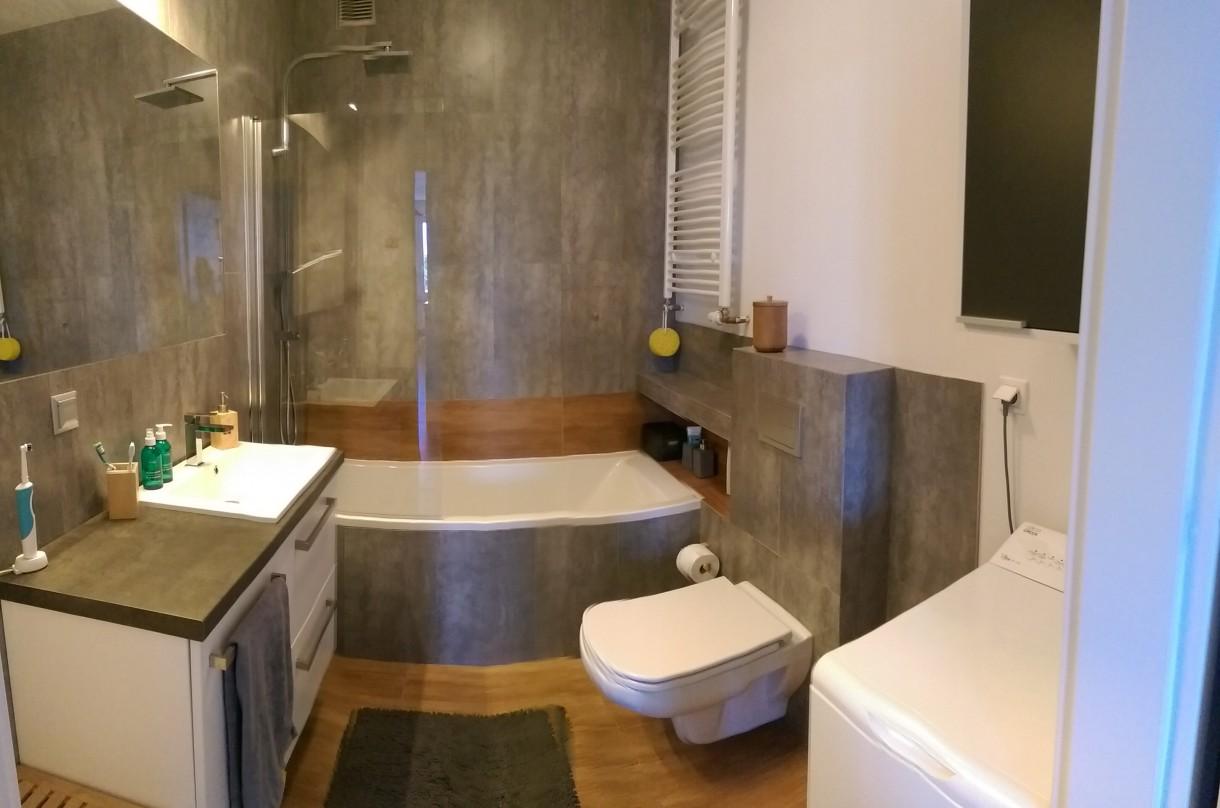 łazienka Beton I Poniekąd Drewno Deccoriapl