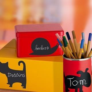 Naklejki po których Twoje dziecko może malować kredą !!