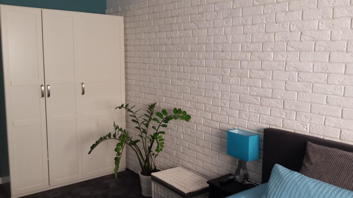 Zdjęcie 15 W Aranżacji Biała Cegła W Sypialni Deccoriapl