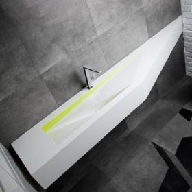 Luksusowe łazienki z Corianu i innych kompozytów solid surface