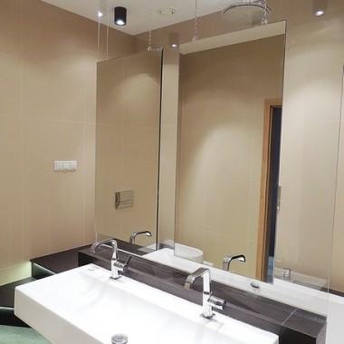 Aranżacja łazienki w domu pokazowym na Osiedlu Dębinka