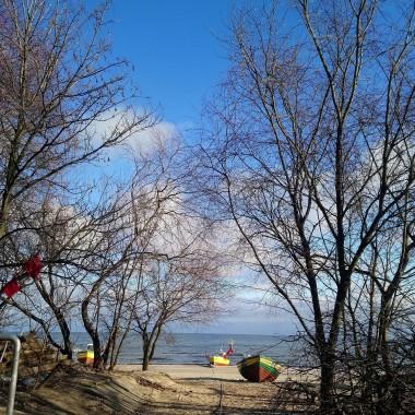................i plaża w błękitach.................