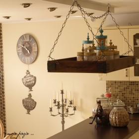 DIY - Półka nad wyspę kuchenną