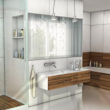 Nowoczesne łazienki Wanny, brodziki, umywalki z blatem na wymiar
