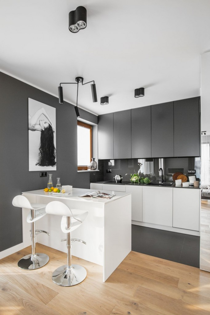 Kuchnia, Jasne stylowe kuchnie