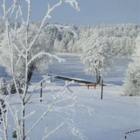 Mazurska zima cudna jest :) na końcu fotki z  lutego/09 kanikuła