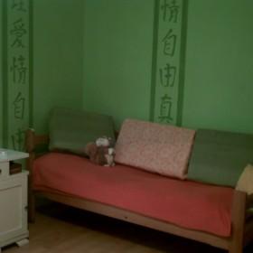 Mój zielony pokój:)