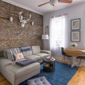 Małe-duże mieszkanko w Chicago