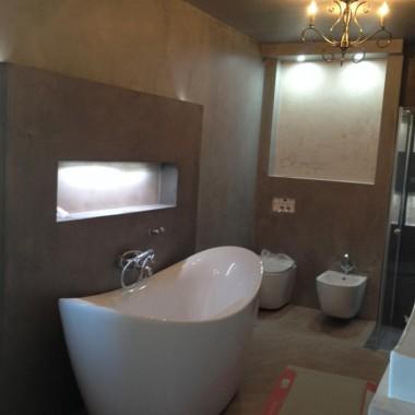 łazienka w technologi mikrocement