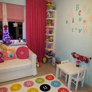 Świątecznie w pokoju dziewczynek