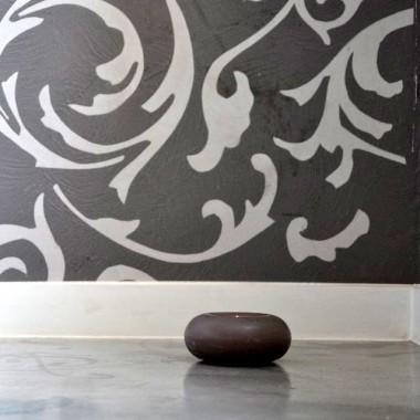 Podłoga +efekt wytartego betonu