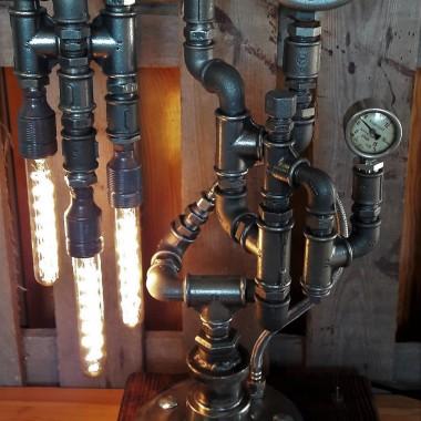 Piękna lampa Loft/Indusrtial/Steampunk