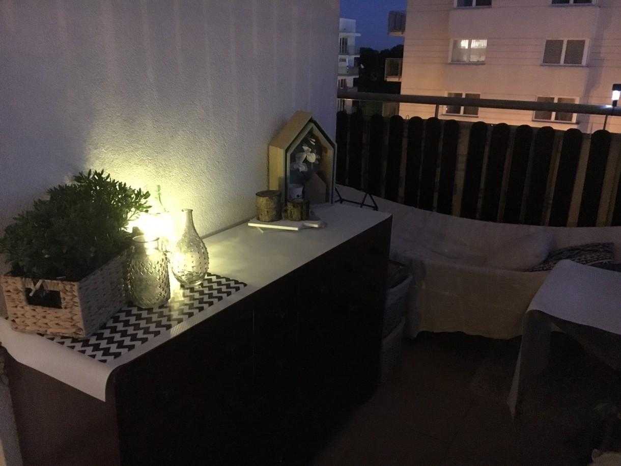 Balkon, Majowy wieczór na balkonie