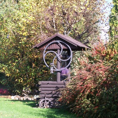 Pażdziernikowy ogród :)