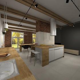 Dom w stylu loftowo-skandynawskim