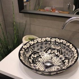 Umywalki meskykańskie w aranżacji