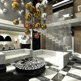 projekt wnętrza domu w stylu glamour