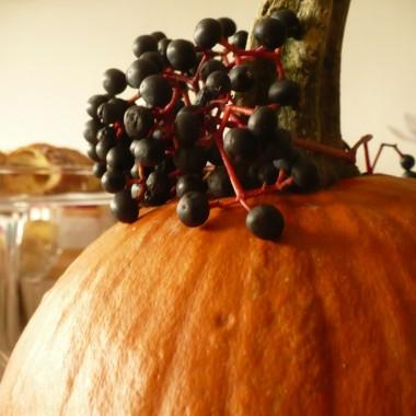 ..............i dynia...... i owoce dzikiego wina................