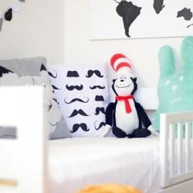 Skandynawski pokój dla chłopca.