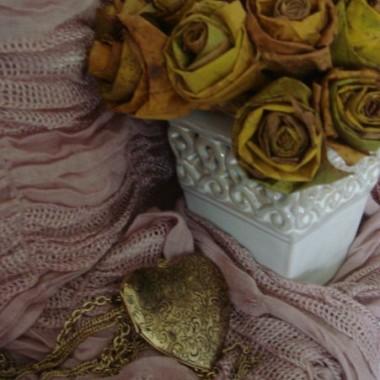 Liście klonu jako bukiet róż