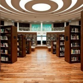 Czarny orzech amerykański w bibliotece Uniwersytetu Zayed