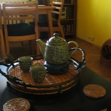 Może kubeczek  zielonej herbaty?