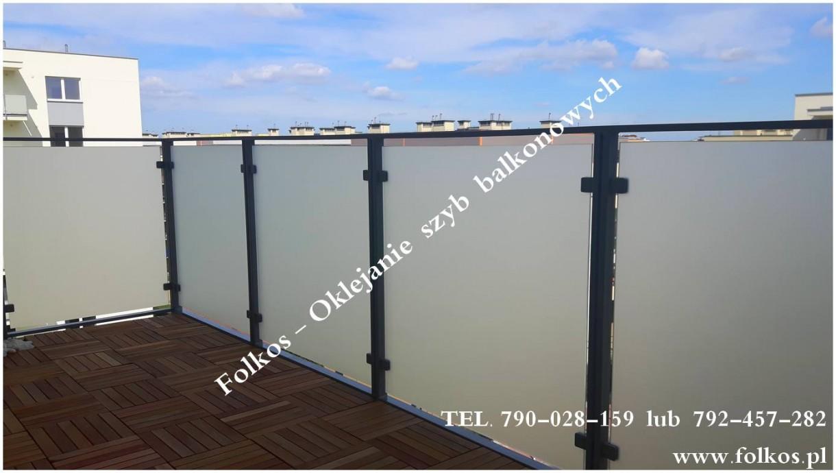 Sprzedam, Folie matowe na balkony -folia balkonowa, folie mrożone