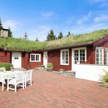Bajeczny Skandynawski dom
