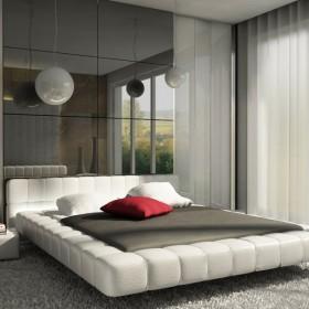 sypialnia - złamana biel