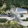 Domy i mieszkania, Dom przyszłości - Dom jest samowystarczalny – znajdują się w nim systemy do oczyszczania powietrza i wody, turbiny wiatrowe oraz panele słoneczne. Bryła budynku sprawia wrażenie osuwające się wzdłuż zbocza. Efekt ten dają skośne ściany oraz tarasy, na które wyjść można z wewnętrznych pomieszczeń. Solidną konstrukcję CyberHouse Life tworzą monolityczny beton, wytrzymała stal i kuloodporne szkło.  Cover Images/East News