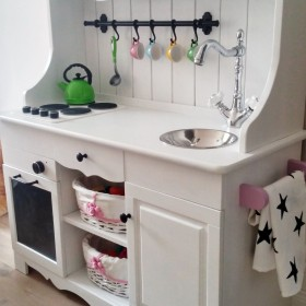 DIY kuchenka dziecięca