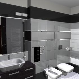 Trzy łazienki z jednego projektu...