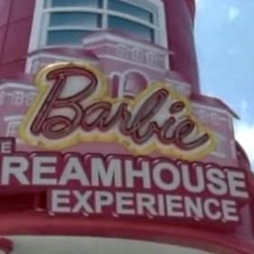 Różowy dom Lalki Barbie - w skali 1:1