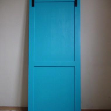 """Drzwi przesuwne RENO (lite drewno, unikalny styl """"barn door&quot"""